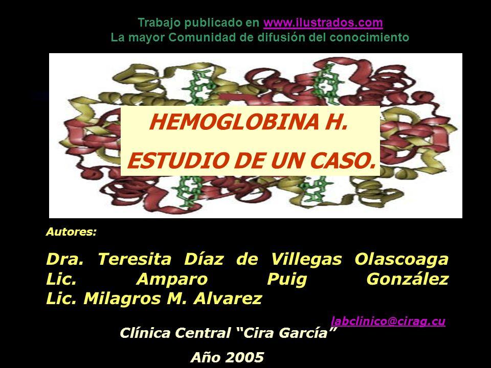 Trabajo publicado en www.ilustrados.com Clínica Central Cira García