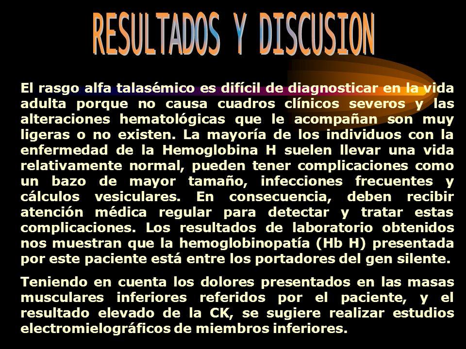 RESULTADOS Y DISCUSION