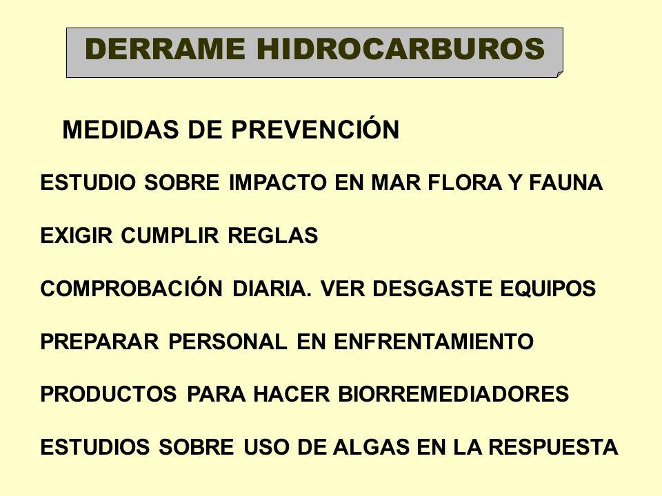 DERRAME HIDROCARBUROS