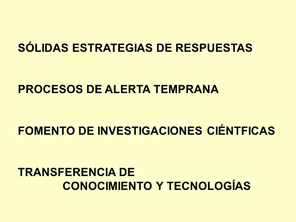SÓLIDAS ESTRATEGIAS DE RESPUESTAS