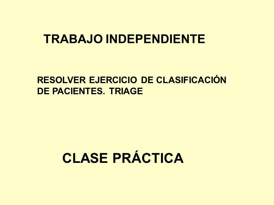CLASE PRÁCTICA TRABAJO INDEPENDIENTE