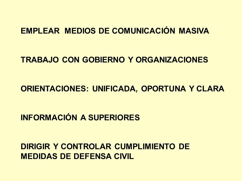 EMPLEAR MEDIOS DE COMUNICACIÓN MASIVA
