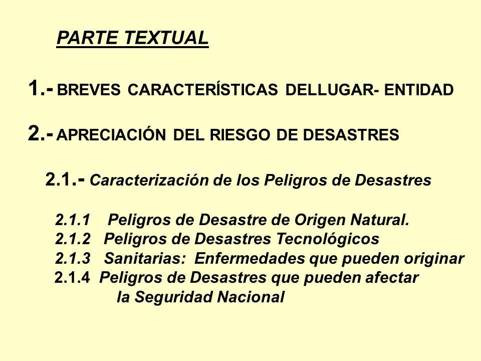 1.- BREVES CARACTERÍSTICAS DELLUGAR- ENTIDAD