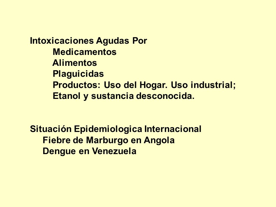 Intoxicaciones Agudas Por