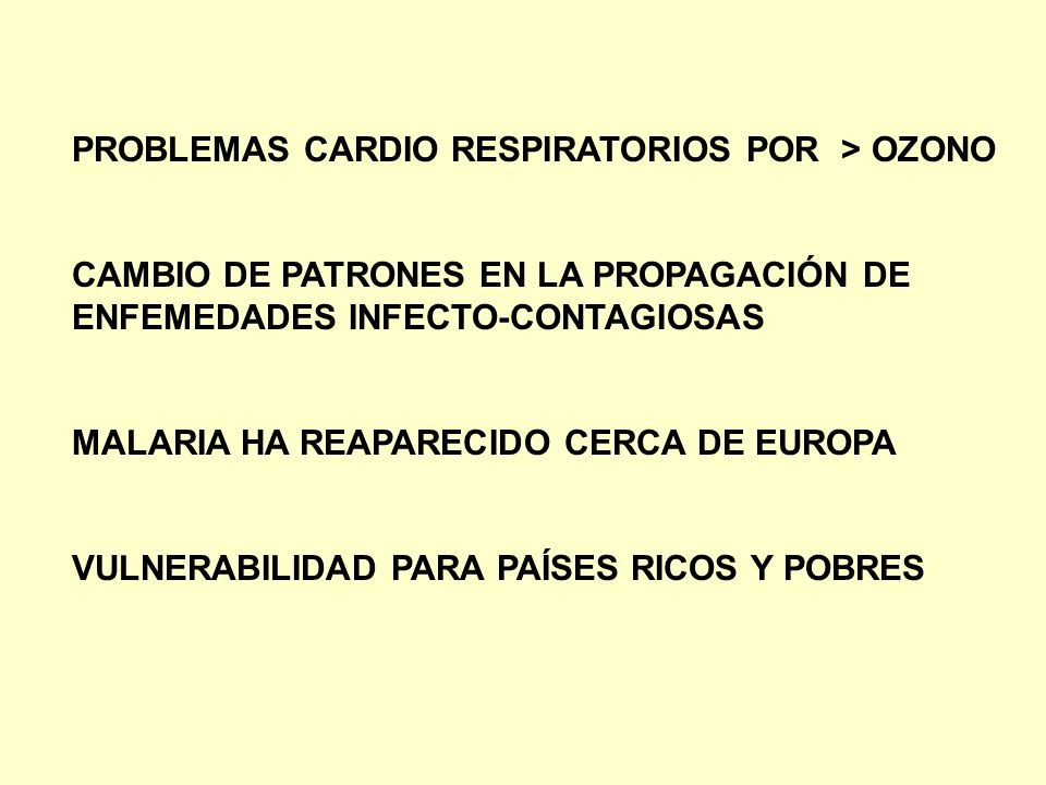 PROBLEMAS CARDIO RESPIRATORIOS POR > OZONO