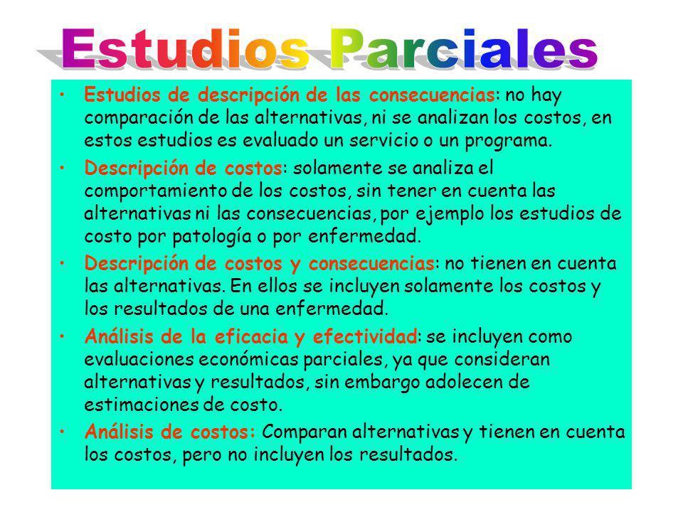 Estudios Parciales
