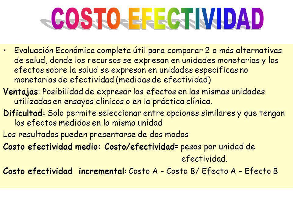 COSTO EFECTIVIDAD