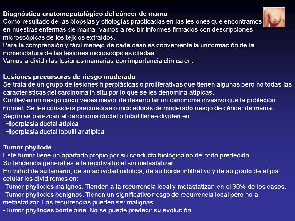 Diagnóstico anatomopatológico del cáncer de mama