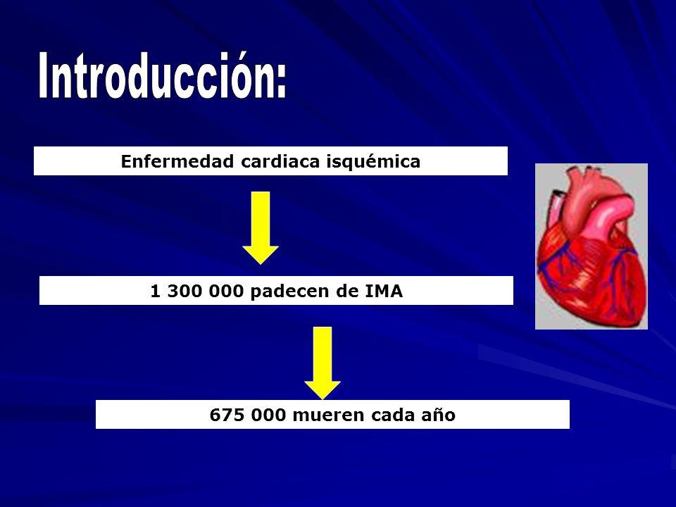 Enfermedad cardiaca isquémica
