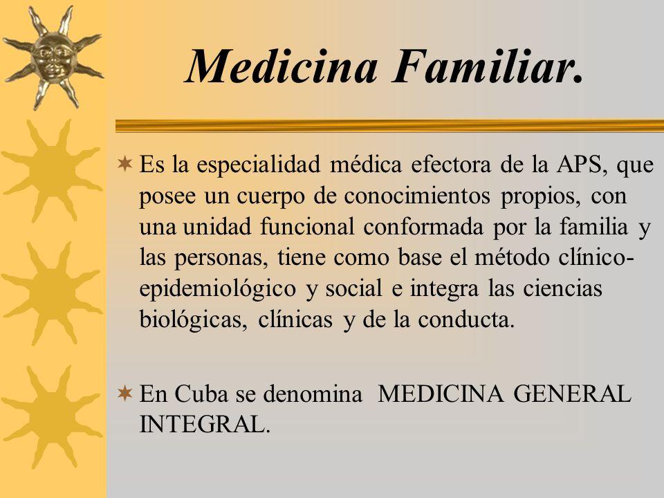 Medicina Familiar.