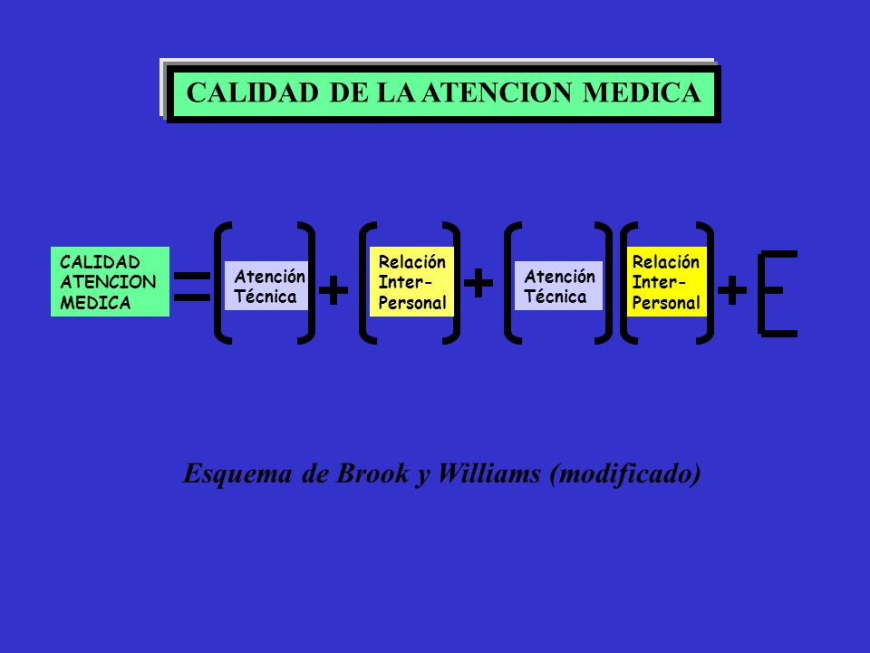 CALIDAD DE LA ATENCION MEDICA
