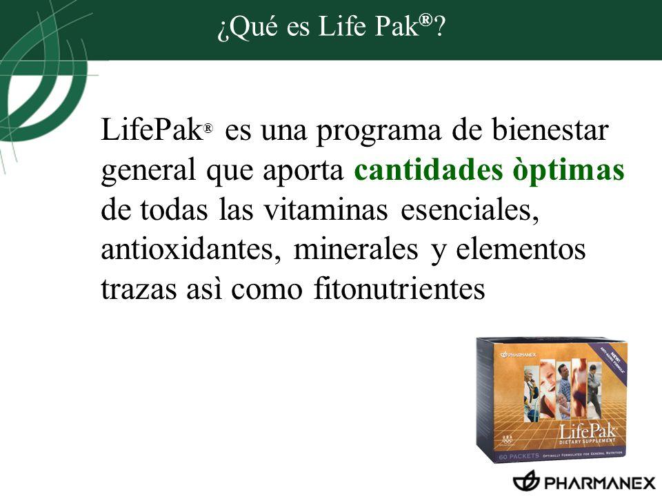 ¿Qué es Life Pak®