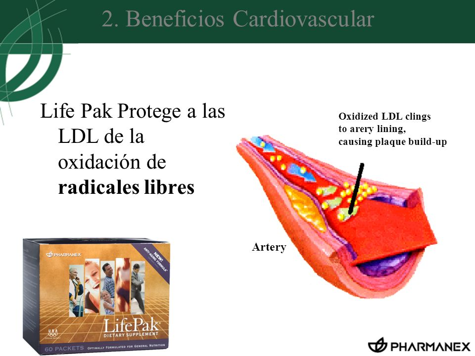 2. Beneficios Cardiovascular