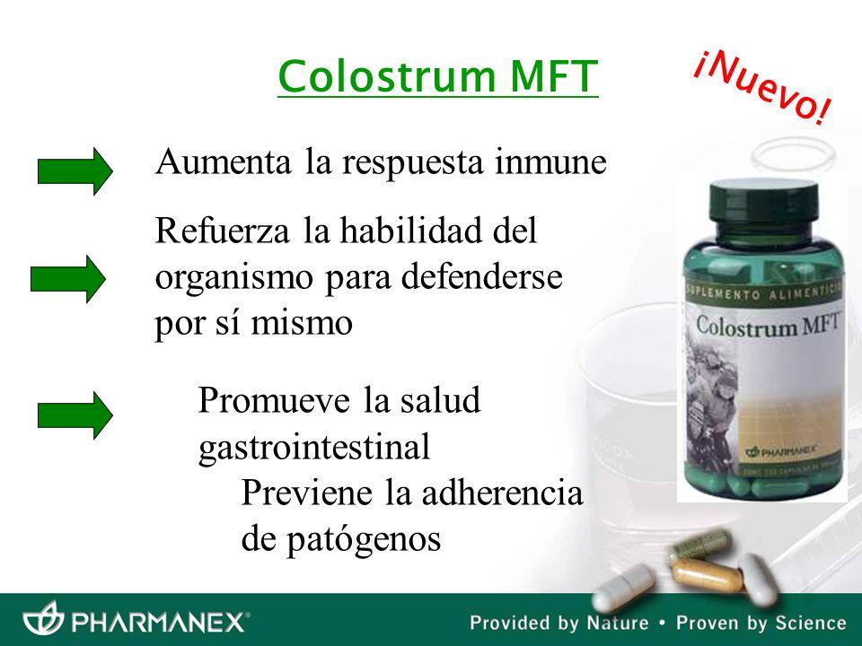 Colostrum MFT ¡Nuevo! Aumenta la respuesta inmune