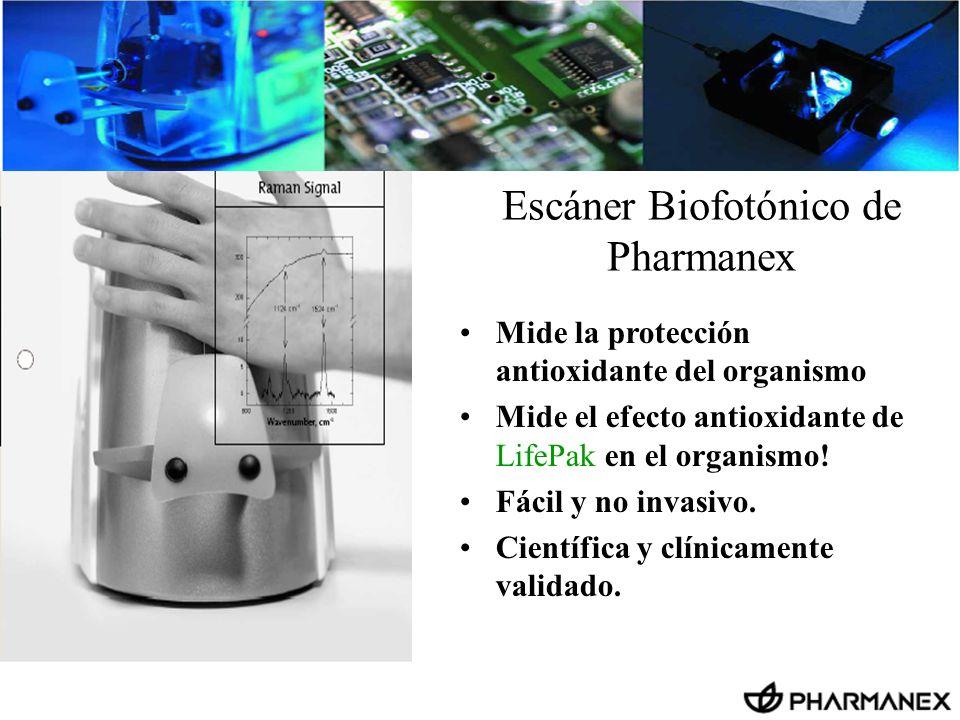 Escáner Biofotónico de Pharmanex