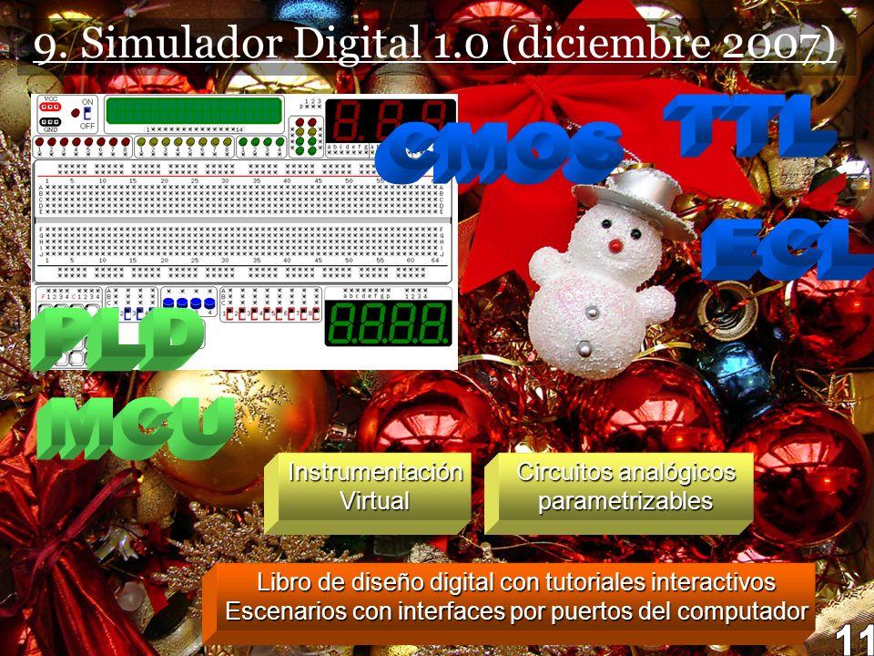 9. Simulador Digital 1.0 (diciembre 2007)