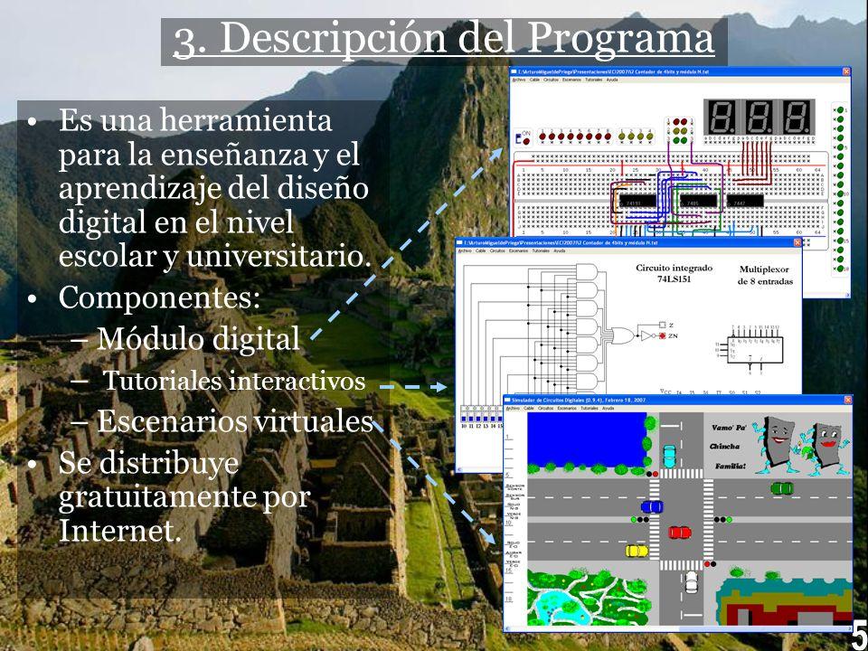 3. Descripción del Programa