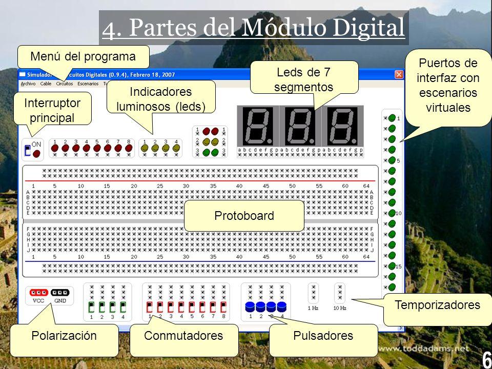 4. Partes del Módulo Digital