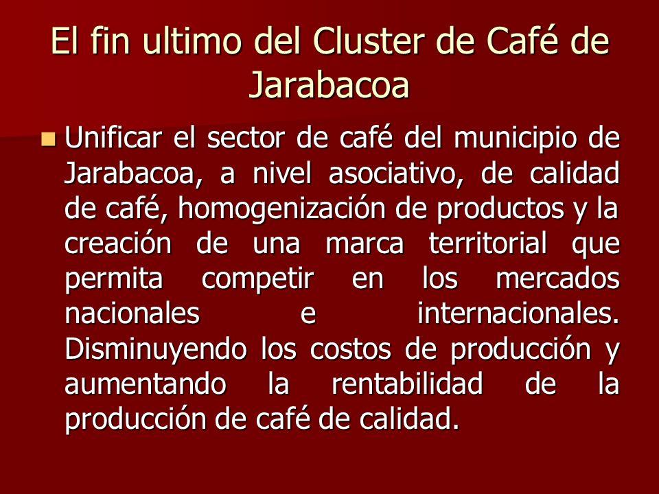 El fin ultimo del Cluster de Café de Jarabacoa