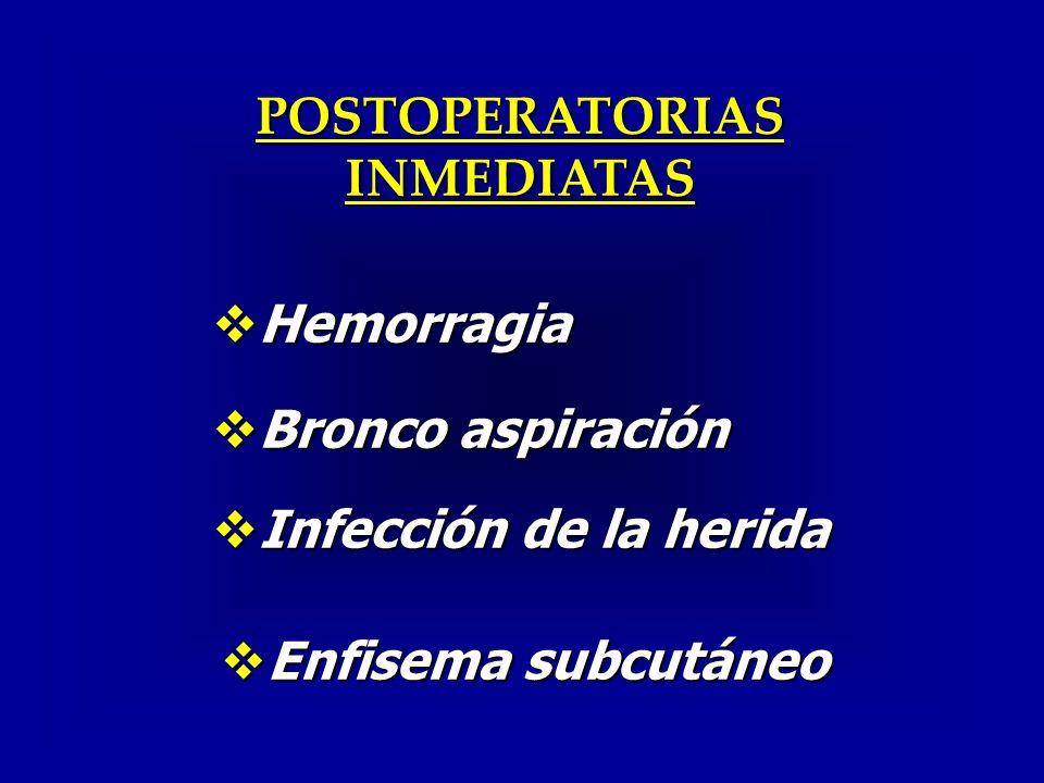 POSTOPERATORIAS INMEDIATAS