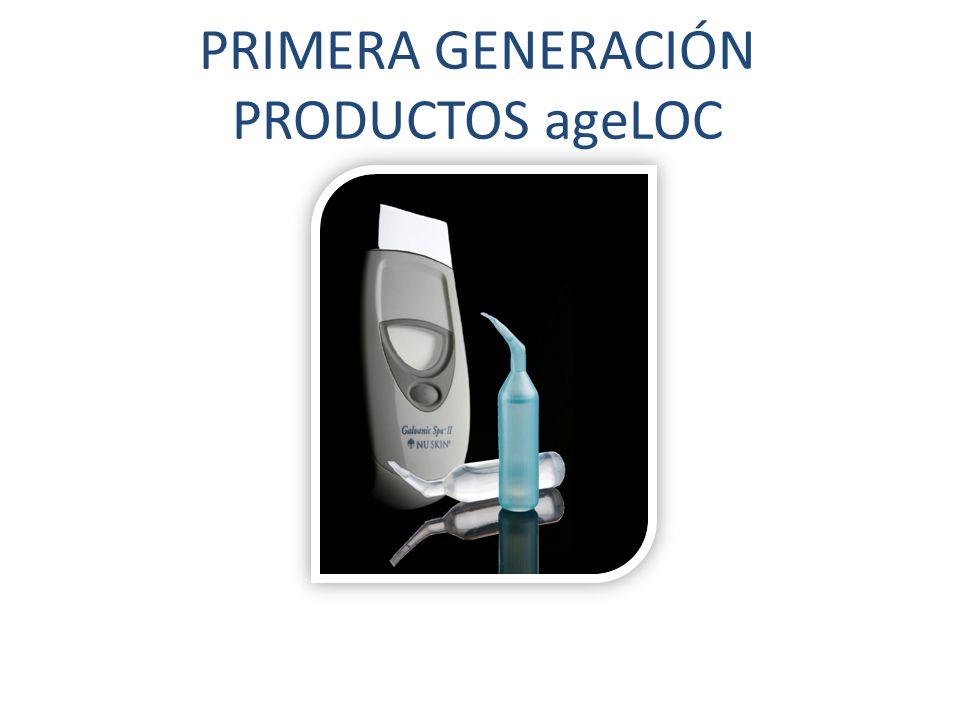 PRIMERA GENERACIÓN PRODUCTOS ageLOC