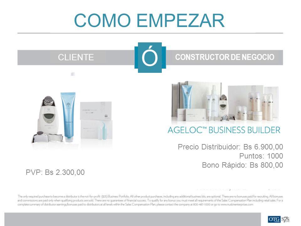 Ó COMO EMPEZAR CLIENTE CONSTRUCTOR DE NEGOCIO