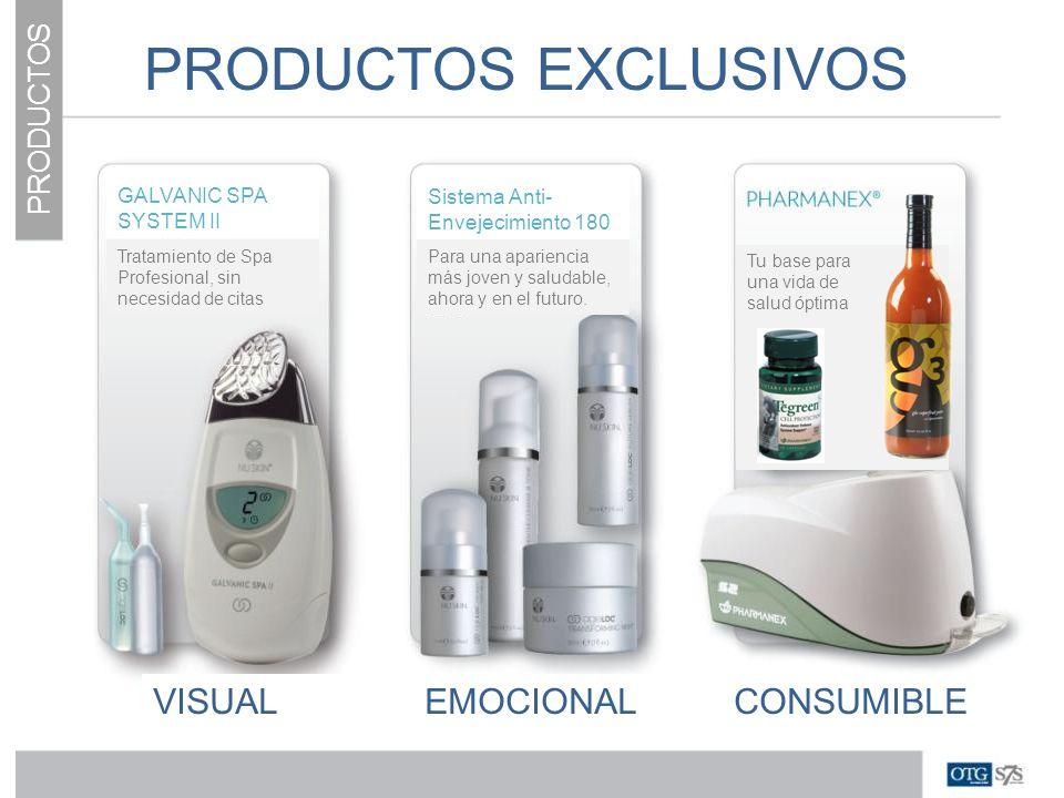 PRODUCTOS EXCLUSIVOS VISUAL EMOCIONAL CONSUMIBLE PRODUCTOS