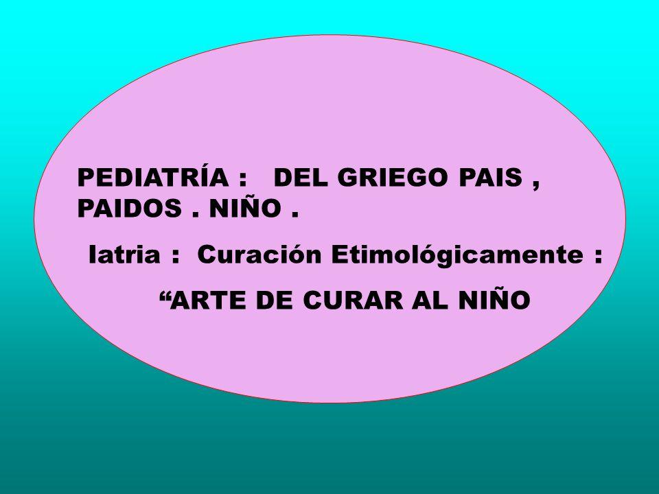 Iatria : Curación Etimológicamente :