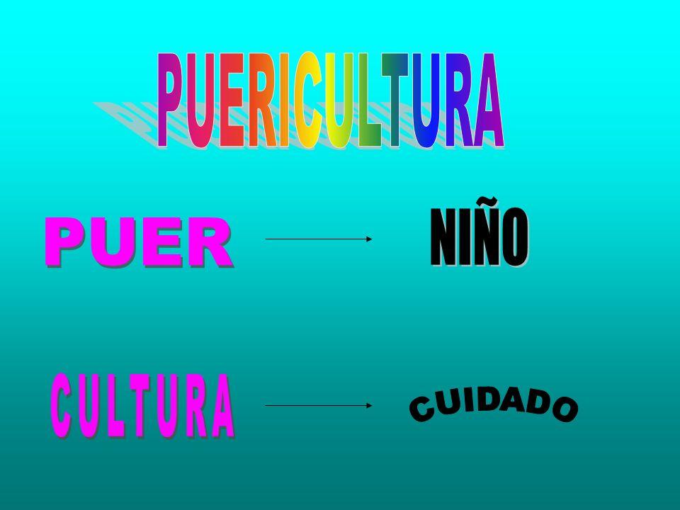 PUERICULTURA NIÑO PUER CULTURA CUIDADO