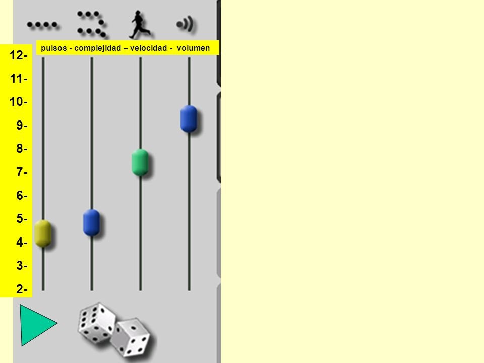 pulsos - complejidad – velocidad - volumen