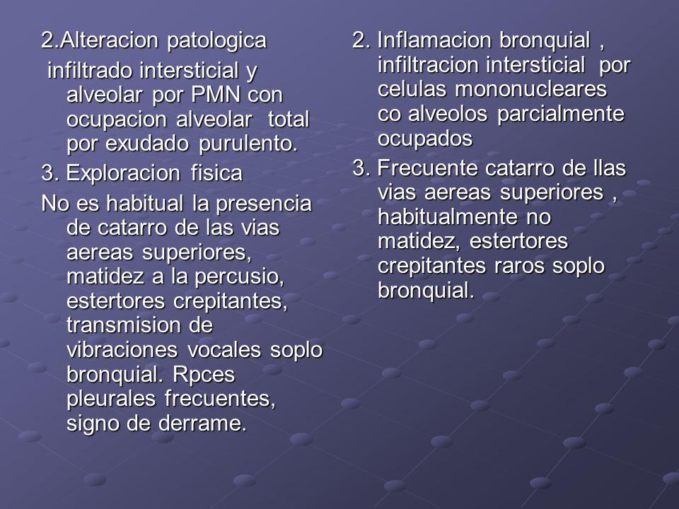 2.Alteracion patologica