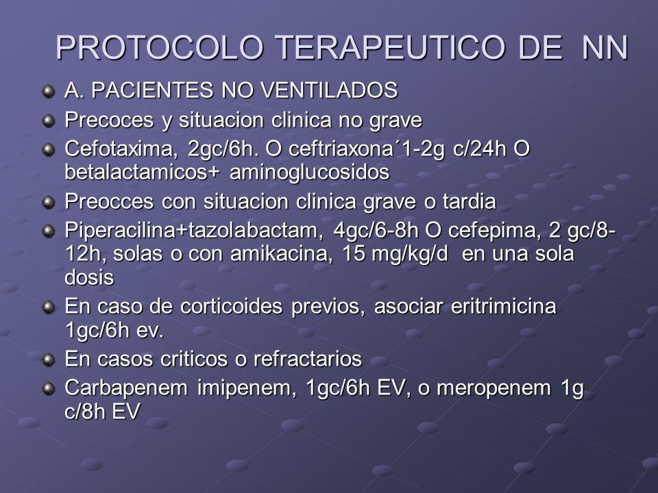 PROTOCOLO TERAPEUTICO DE NN