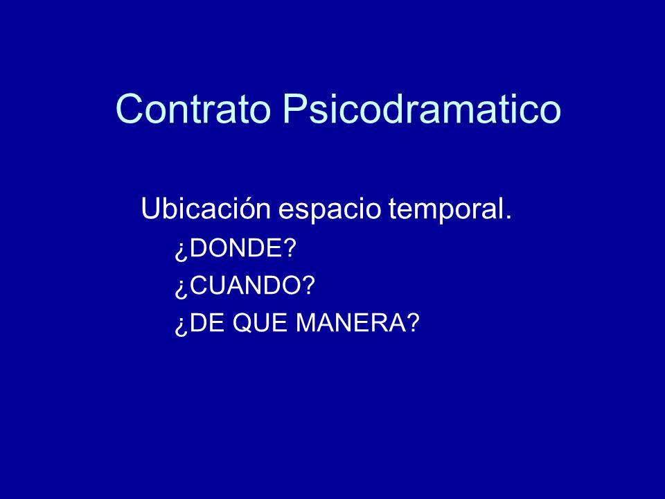 Contrato Psicodramatico