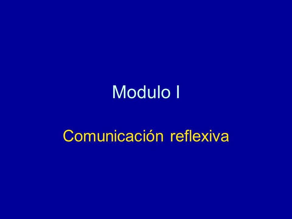 Comunicación reflexiva