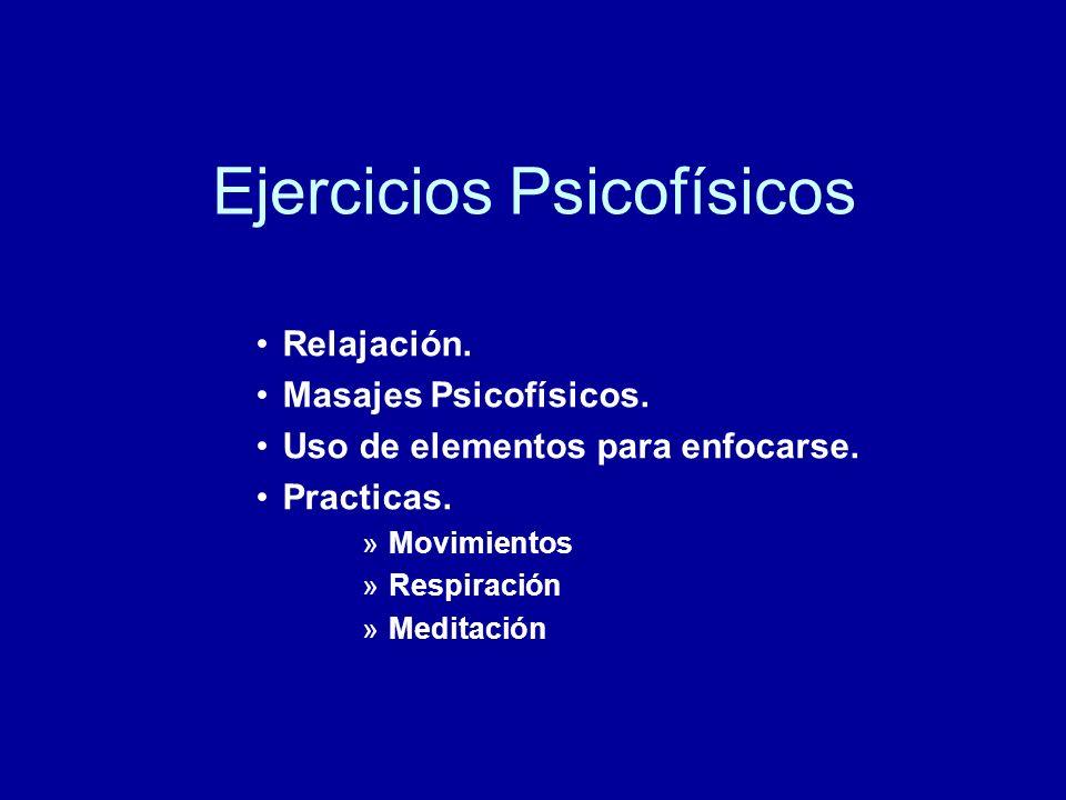 Ejercicios Psicofísicos