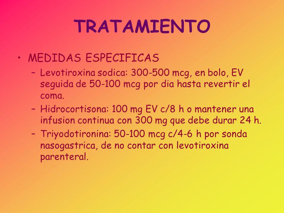 TRATAMIENTO MEDIDAS ESPECIFICAS