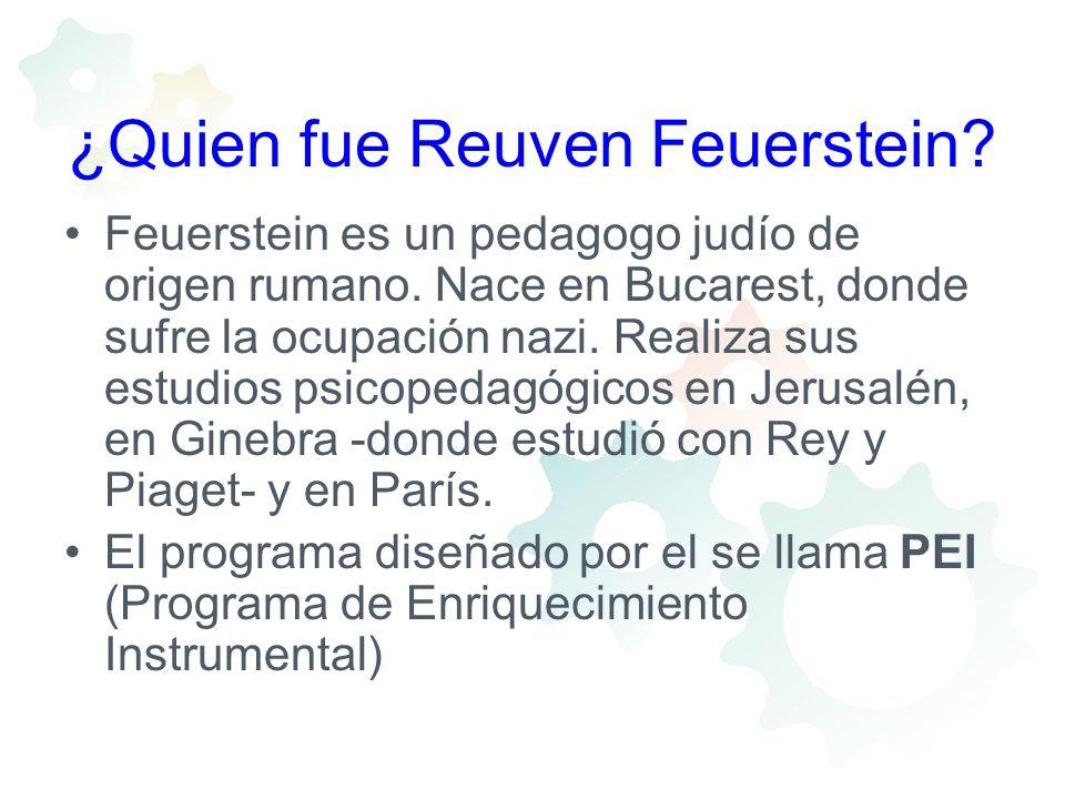 ¿Quien fue Reuven Feuerstein