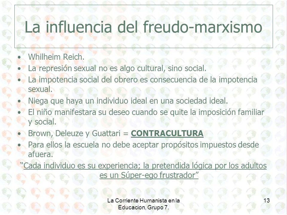 La influencia del freudo-marxismo