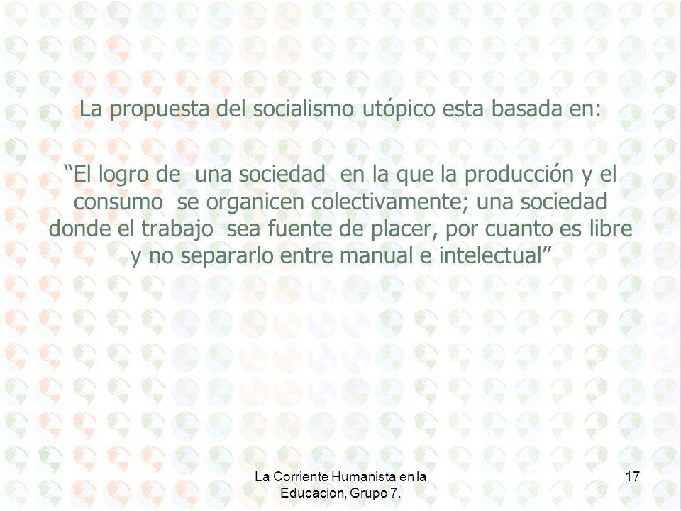 La propuesta del socialismo utópico esta basada en: