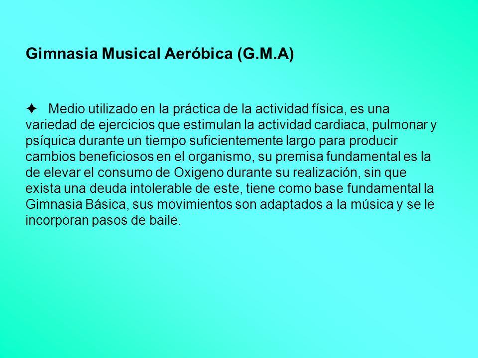 Gimnasia Musical Aeróbica (G. M