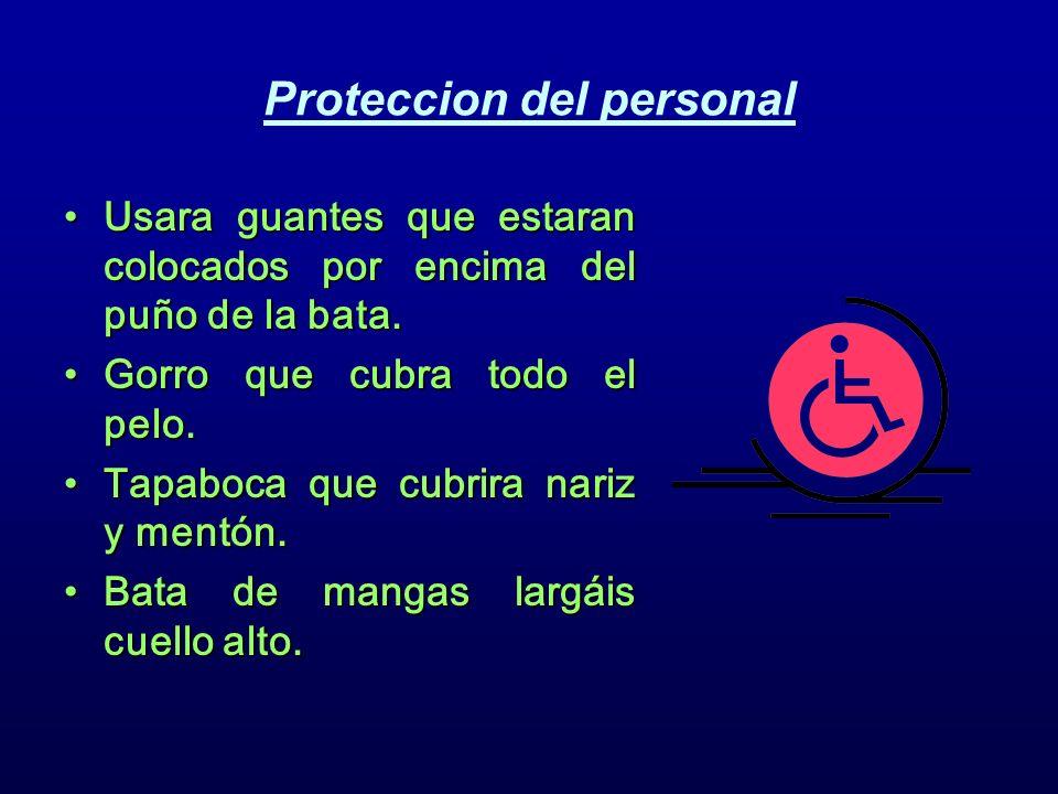 Proteccion del personal