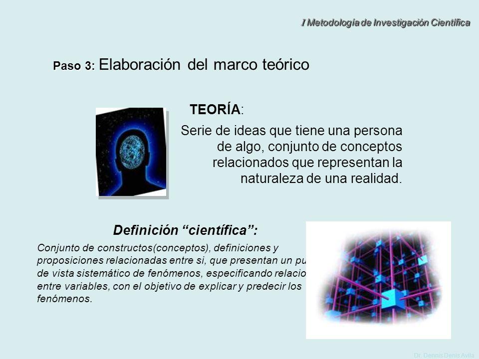 Definición científica :