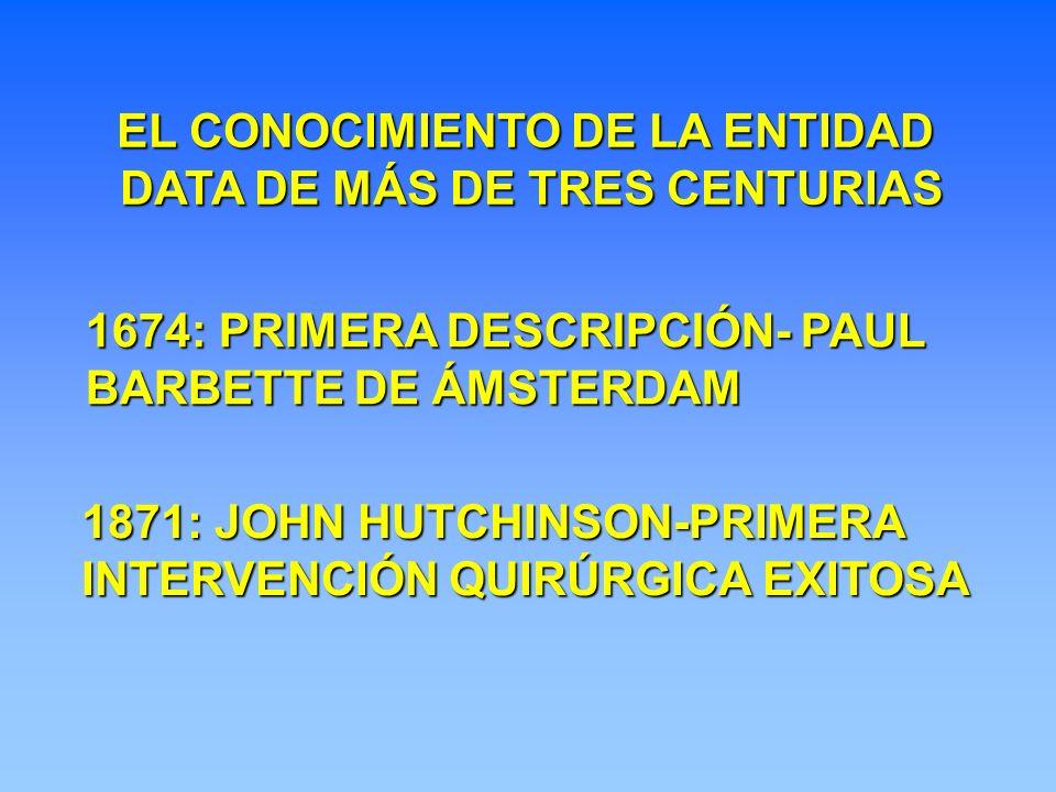 EL CONOCIMIENTO DE LA ENTIDAD DATA DE MÁS DE TRES CENTURIAS