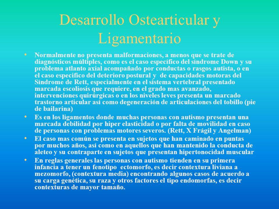 Desarrollo Ostearticular y Ligamentario