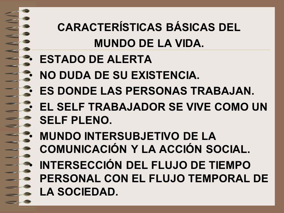 CARACTERÍSTICAS BÁSICAS DEL