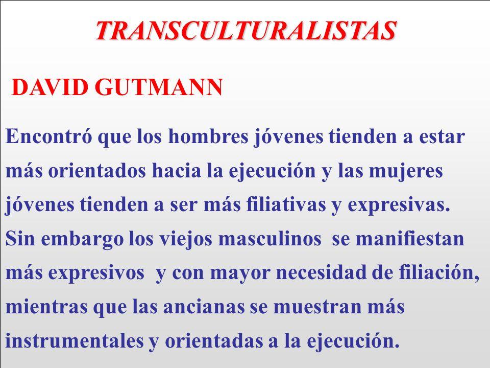 TRANSCULTURALISTAS DAVID GUTMANN