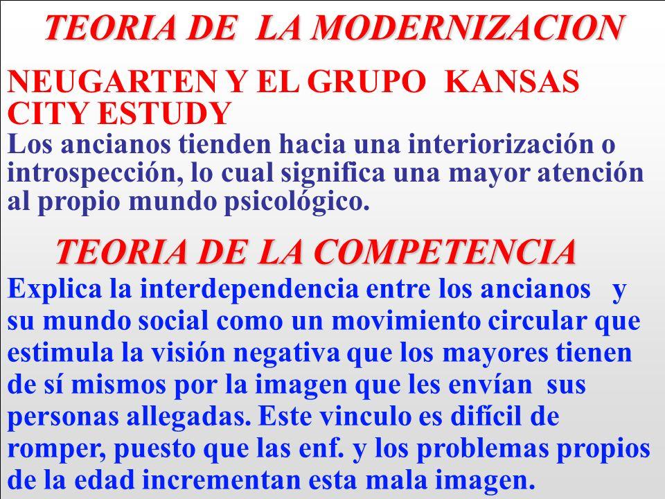 TEORIA DE LA MODERNIZACION