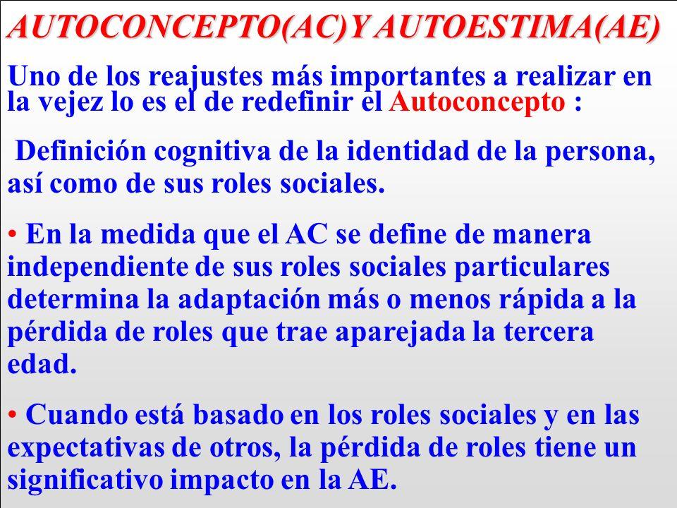 AUTOCONCEPTO(AC)Y AUTOESTIMA(AE)