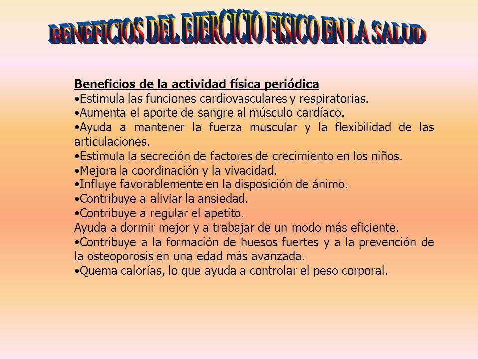 BENEFICIOS DEL EJERCICIO FISICO EN LA SALUD