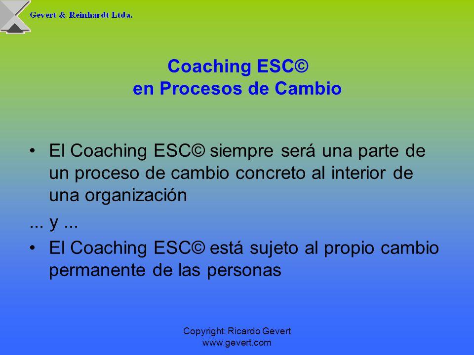 Coaching ESC© en Procesos de Cambio